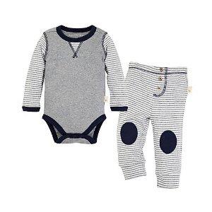 Classic Stripe Bodysuit & Pant Set