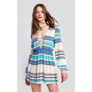 Boardwalk Stripe Whitney Dress | Wildfox