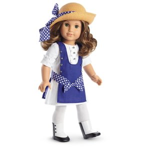Rebecca's Play Dress for 18-inch Dolls