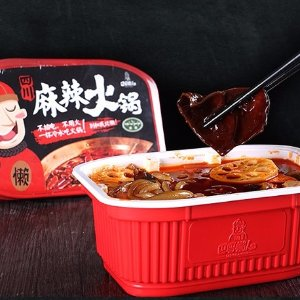 BASHULANREN Instant Spicy Hot Pot 1-2 Person Serving 374g