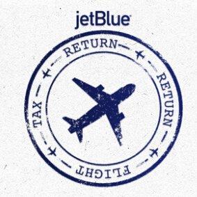 每日旅行新鲜事Jetblue航空Tax Return Return Flight抽奖送1000张机票 / $200-$40运通offer