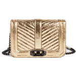 Rebecca Minkoff Small Love Metallic Leather Crossbody Bag (Nordstrom Exclusive