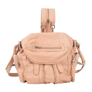 Marti Mini Backpack Rose Gold Finish Alexander Wang Pink - Monnier Frères