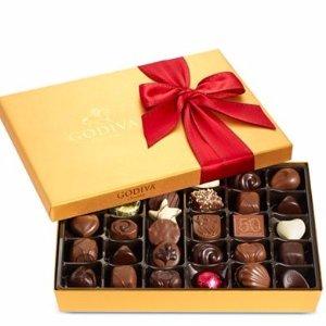 节日巧克力礼盒36颗
