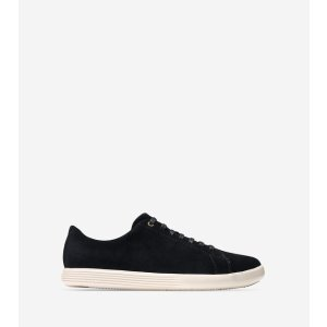 Women's Grand Crosscourt Sneakers in Black-White : Sale   Cole Haan