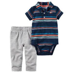 Baby Boy 2-Piece Bodysuit Pant Set | Carters.com