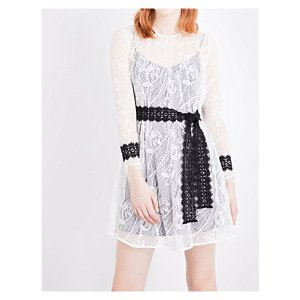 MAJE - Rogette lace dress   Selfridges.com