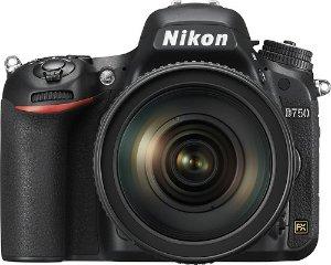 $2299Nikon D750 DSLR Camera with AF-S NIKKOR 24-120mm f/4G ED VR Lens