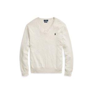Slim-Fit Pima Cotton Sweater - V-Neck � Sweaters - RalphLauren.com