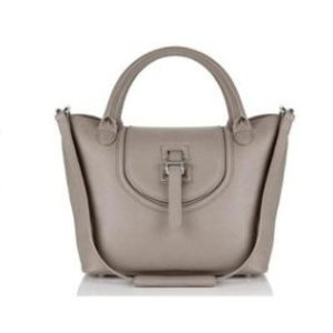 halo medium tote bag handbag taupe