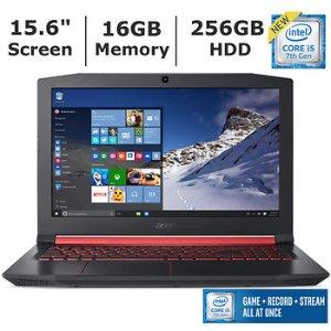 Acer Nitro 5 Laptop  i5-7300HQ 16GB 256GB SSD 1050Ti