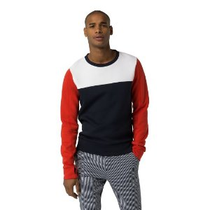 COLORBLOCK CREWNECK SWEATER | Tommy Hilfiger