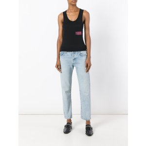 Off-White 'Business Woman' Racer Back Vest Top