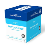 Hammermill Paper, Copy Paper Poly Wrap, 20lb, 8.5 x 11, Letter, 92 Bright, 2500 Sheets / 5 Ream Case (150600C), Made In The USA