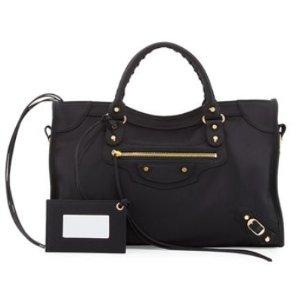 Balenciaga Classic City Nylon Shoulder Bag