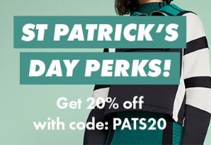 20% OffSt Patrick's Day Sale @ ASOS