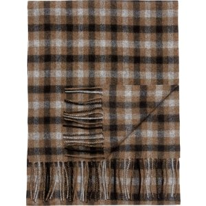 Jos. A. Bank Gingham Cashmere Scarf - All Accessories   Jos A Bank