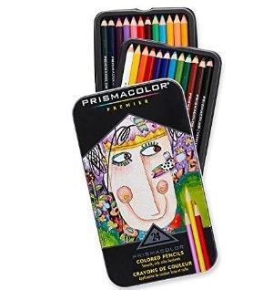 $8.33Prismacolor Premier Colored Pencils, Soft Core, 24-Count