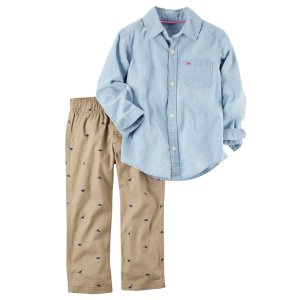 Carter's Toddler Boys' Shirt & Pants - Dinosaurs - Sears