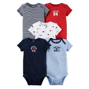 Baby Boy 5-Pack Original Bodysuits | Carters.com