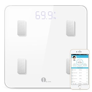 1byone Digital Smart Wireless Body Scale