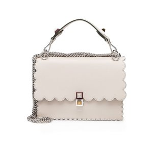 Kan I Mini Leather Shoulder Bag - Fendi | WOMEN | US STYLEBOP.COM