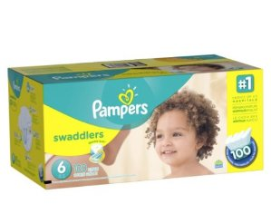 $17.8 Pampers Swaddlers Diapers Size 6, 100 Count