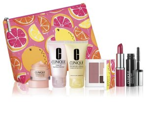 10% Off + Free 7-Pc Gift Set (A $70 Value)with $28 Clinique Purchase @ Macys.com!