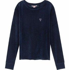 Velour Crossback Pullover - Victoria's Secret