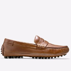 Grant Canoe Penny Loafers in Papaya : Mens Shoes | Cole Haan