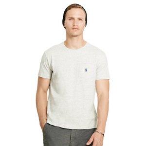 Cotton Jersey Pocket T-Shirt - Tees � T-Shirts & Sweatshirts - RalphLauren.com