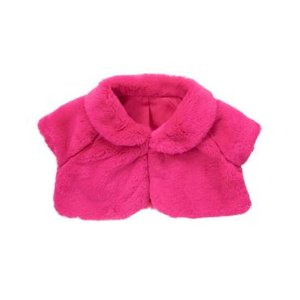 Toddler Girls Orchid Faux-Fur Shrug by Gymboree