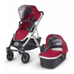 UPPAbaby 2016 VISTA Stroller - Denny (Red/Silver)