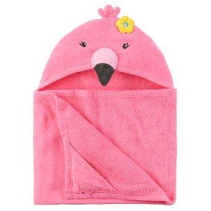 Flamingo Hooded Towel | Carters.com