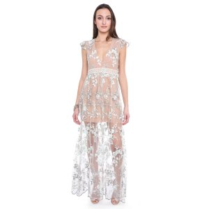 Wayf Embroidered Floral Dress   South Moon Under