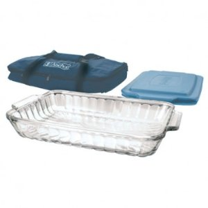 Anchor Hocking Tote Bakeware Set