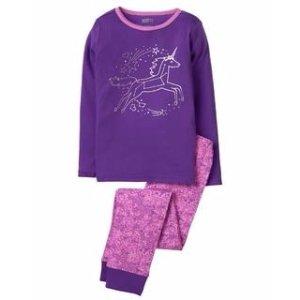 Unicorn 2-Piece Pajama Set