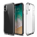 iPhone X Patchworks Pure Shield Series in Clear Dual Material German Polycarbonate TPU Extra Corner Air Pocket Air Vent Military Drop Tested Impact Protection Case