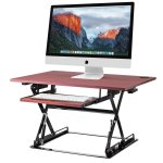 Halter ED-257 Preassembled Height Adjustable Desk Sit