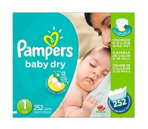 Prime Members Only! $3.00 OFF coupon+ Extra 20% OffPampers Diapers Sale @ Amazon