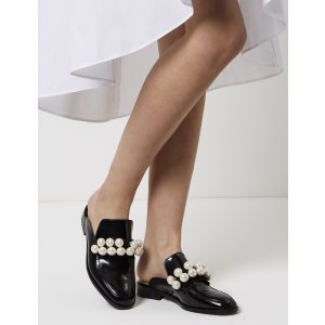 Black Pearl Slip-On Loafers | Pokemaoke | Avenue32