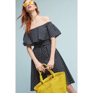 Beachside Off-The-Shoulder Dress