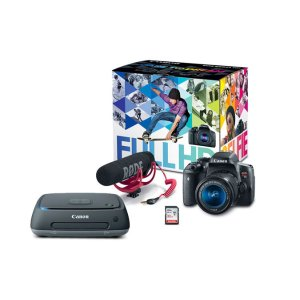 Canon Connect Station CS100 & Rebel T6i Video Creator Kit with 18-55mm IS STM Lens | Canon Online Store