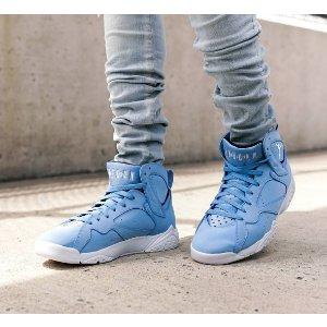 Jordan Retro 7 - Men's - Basketball - Shoes - University Blue