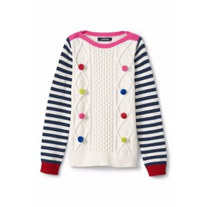 Girls Cable Sweater