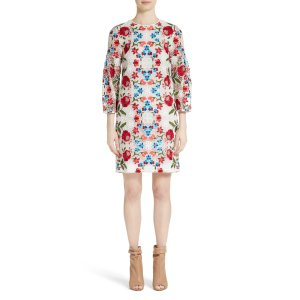 Burberry Carrie Embroidered Lace Dress