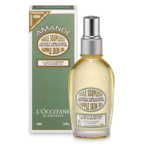 Organic Almond Oil For Skin │ Almond Supple Skin Body Oil L'Occitane