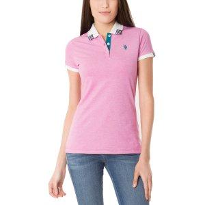 Space Dye Design Polo Shirt - U.S. Polo Assn.