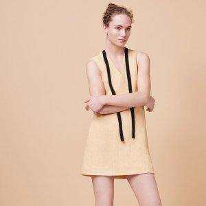 RIKOU Sleeveless A-line dress - Dresses - Maje.com