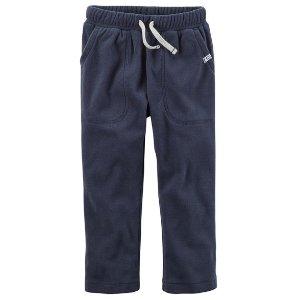 Drawstring Fleece Pants